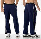 PUMA Mens Sport Lifestyle Side Stripe Cotton-Blend Comfortable Lounge Pants Blue