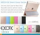 HOCO Smart Cover ICE Series for iPad 2,3,4 - Glitter Colors with Translucen Back