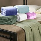 Hotel Collection Therma Plush Blankets - 5 Colors - 2 Sizes