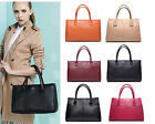 DUDU Womens Genuine Real Leather Handbag Shoulder Tote Satchel Bag Fashion Purse