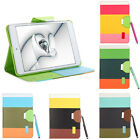 Flip Wallet PU Leather Smart Cover Stand Case for iPad mini Hybrid Color UK