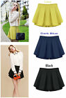 Fashion Candy Color Chiffon Mini Short Pantskirt Shorts Women Skirt Pants WF0309