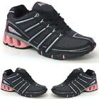 LADIES RUNNING TRAINERS GIRLS NEW SPORTS GYM WALKING SHOCK ABSORBING SHOES SIZE
