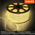 PREMIER IP67 230v Warm White SMD 3528 LED Ribbon Strips Rope Lights  FULL SET UK