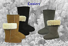 Ladies Turn Down Boots Faux fur collar up or down snugg boot