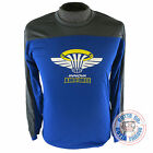 Innova AIR FORCE Rapid-Dry Long Sleeve Disc Golf Jersey BLUE / GRAY MANY SIZES
