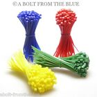COLOURED CABLE TIES, RED, GREEN, YELLOW, BLUE, ZIP TIES NYLON 66 (ABOLT-FTB)