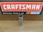 "NEW CRAFTSMAN 3 8"" 12 PT POINT SAE OR METRIC DEEP SOCKET TOOLS CHOOSE SIZE"