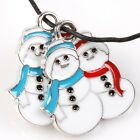 15/75x Retail Colorful Enamel XMAS Themes Alloy Hanging Pendants Jewelry Finding
