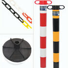 Chain & Post Demarcation Barrier System -9 Piece Kit. Manage Pedestrian/Vehicle