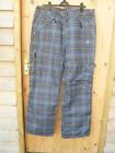 DARE2BE DARE TO BE BLACK OR GREY CHECK WATERPROOF BREATHABLE SKI BOARD PANTS XXL