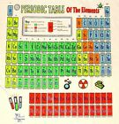 Glow PERIODIC TABLE-Chemistry Elements Science Teacher T shirt NEW Size M-2XL