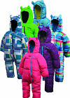 Dare2b Bugaloo Snowsuit Kids Babies Padded all-in-one 0 - 6 mths to 3 - 4 yrs