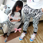 Children Girls Kids Casual Collapse Pants Cotton Harem Pants Trousers 1-6Years