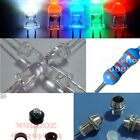 5mm round top Ultra-Bright LED Various Colours water Clear Holder Resistor