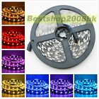 5M 5050 RGB SMD 60Leds/M Non-Waterproof Flexible LED Strip Christmas Car Light