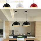 Retro Style Black White Red Metal Ceiling Pendant Light Lamp Shade Lampshade