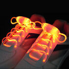 Cool Thanksgiving&Xmas Gift LED Flashing Light Shoe Laces Shoestring Rave Party
