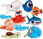 "NEW OFFICIAL 12"" FINDING NEMO CHARACTERS NEMO DORY SQUIRT BRUCE PLUSH SOFT TOYS"