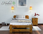 "Sale New Single 3FT Bed ""Lidia"" Pine,Walnut,Oak,Alder Solid Wooden"