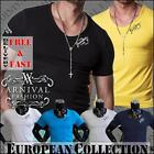 NEW MENS V NECK T SHIRTS FOR MEN CASUAL FASHION CLOTHING MEN'S SHORT SLEEVE TOP
