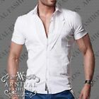 NEW MENS SHORT SLEEVE SHIRTS for MEN FORMAL WEAR corporate MEN'S BUSINESS SHIRT