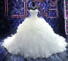 New white ivory Mermaid lace Wedding Dress Custom Size 2-4-6-8-10-12-14-16-18++