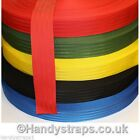 "10 meter x 50mm colour Polypropylene 2""  Herringbone Webbing In Various Colours"