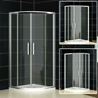 Quadrant Shower Enclosure Walk In Corner Cubicle Glass Door Screen Stone Tray Q1