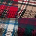 Great Gift: Luxurious Edinburgh Blue Label 100% Cashmere Tartan Scarves!