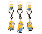 "NEW OFFICIAL 2"" DESPICABLE ME 2 MINIONS TIM DAVE STUART PLASTIC BAG CLIPS"
