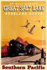 Southern Pacific Railroad Train Salt Lake New Retro Poster-3 sizes-Art Print 108