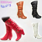 Lucky Top Kid's Cute Buckle Dress Zipper Boot Shoes Shoes 4 Colors NEW Size 9