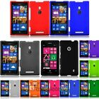 For Nokia Lumia 925 Rubberized Hard Phone Cover Case
