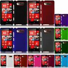 For Nokia Lumia 820(AT & T) Rubberized Hard Phone Cover Case