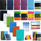 Hybrid PU Leather Wallet Flip Smart Stand Case Cover For Apple iPad Air 5 5TH UK
