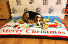 Christmas Design  LARGE SPARE COVER FOR DOG BEDS