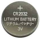 5x CR2032 Lithium Cell Batteries 3V Remote Watch Calculator