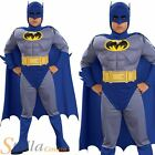 Boys Deluxe Batman Brave Bold Muscle Chest Child Halloween Fancy Dress Costume