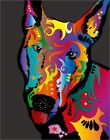 English Bull Terrier Pop Art Print Poster - s119
