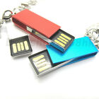 8GB Mini Pendant Metal USB 2.0 Flash Memory Drive Stick thumb Swivel colorful JL