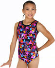 NEW Triangles Gymnastics Leotard by Snowflake Designs