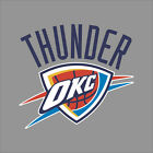 Oklahoma Thunder Nba Team Logo Vinyl Decal Sticker Car Window Wall