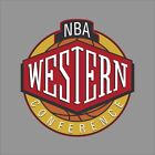 Western Conference Nba Logo Vinyl Decal Sticker Car Window Wall Cornhole