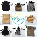 Velvet Pouch Gift Bag Small Drawstring for Jewellery /Gift Earrings Ring etc New