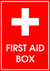 FIRST AID / FIRST AID BOX - SIGN / STICKER  Walls / Windows / Sticker /Graphic