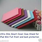 Ultra Slim Smart Cover Case Stand for iPad Mini Full front and back protection