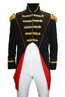 Soldat Napoleon Jacke Karnevalskostüm Uniform Fasching Theater Party Gehrock TOP