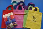 Childrens Learn to Knit Starter Kit & Personalised Craft Knitting Bag Any Name
