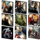 THE AVENGERS CANVAS PICTURE-THOR, HULK, CAPTAIN AMERICA - 9 DESIGNS
